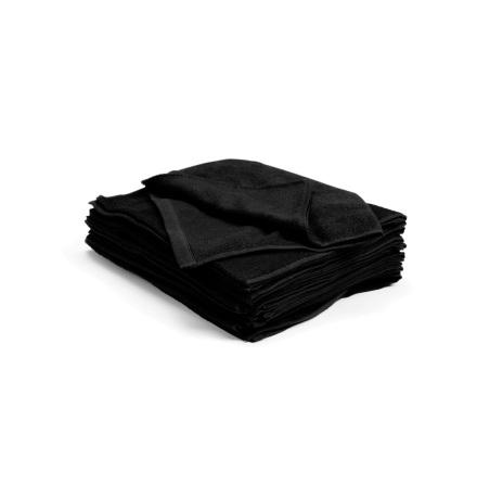 Handduk bleachsafe svart