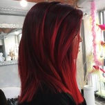 PURE SHADES RUBY RED