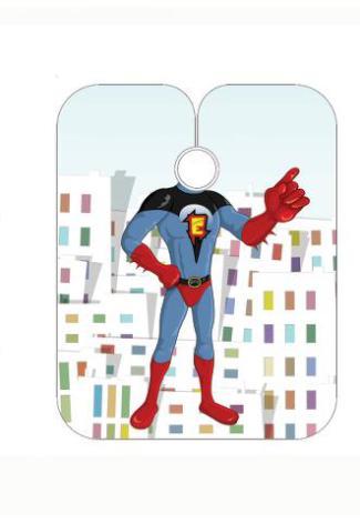 Barnklippkappa space hero