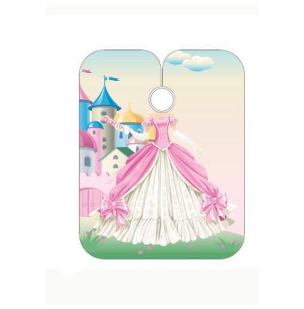Barnklippkappa prinsessa