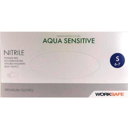 Nitrilhandskar aqua sensitive small